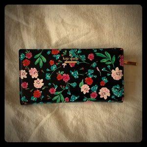 Kate Spade floral bifold wallet